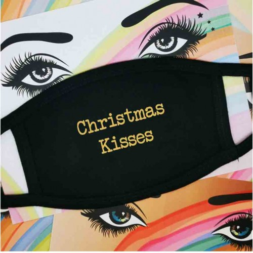 Christmas Kisses - Face Mask